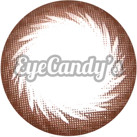 GEO Chocobee Brown colored contacts circle lenses - EyeCandy's