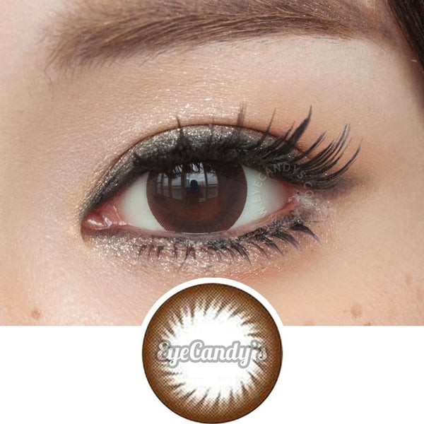 GEO Annex Ring Brown (Toric) colored contacts circle lenses - EyeCandy's