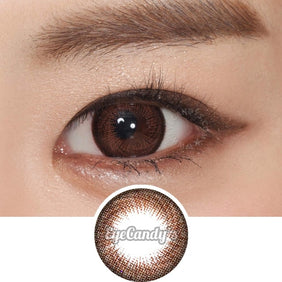 GEO Hurricane Choco colored contacts circle lenses - EyeCandy's