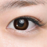 Load image into Gallery viewer, Seed Heroine Brown (10pk) colored contact lenses - EyeCandys