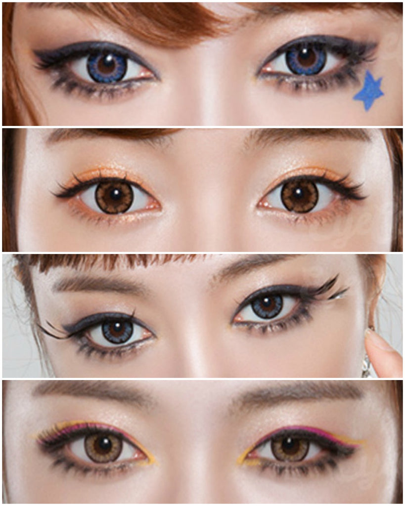 GEO Holicat Barbie Cat Hazel colored contact lenses - EyeCandys
