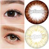 GEO Holicat Barbie Brown colored contacts circle lenses - EyeCandy's