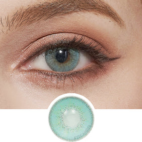 Innovision Luxury Aqua colored contacts circle lenses - EyeCandy's