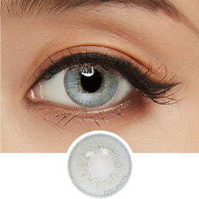 Innovision Luxury Dark Grey colored contacts circle lenses - EyeCandy's