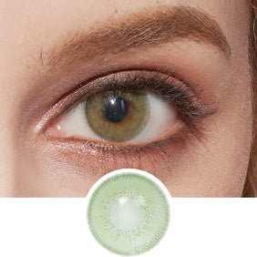 Innovision Luxury Green colored contacts circle lenses - EyeCandy's