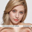 Load image into Gallery viewer, Innovision Luxury Green colored contacts circle lenses - EyeCandy's