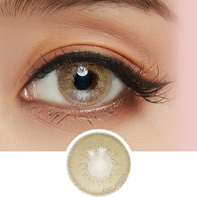 Innovision Luxury Hazel colored contacts circle lenses - EyeCandy's