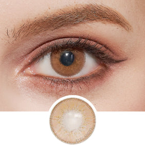 Innovision Luxury Honey colored contacts circle lenses - EyeCandy's