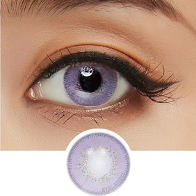 Innovision Luxury Violet colored contacts circle lenses - EyeCandy's