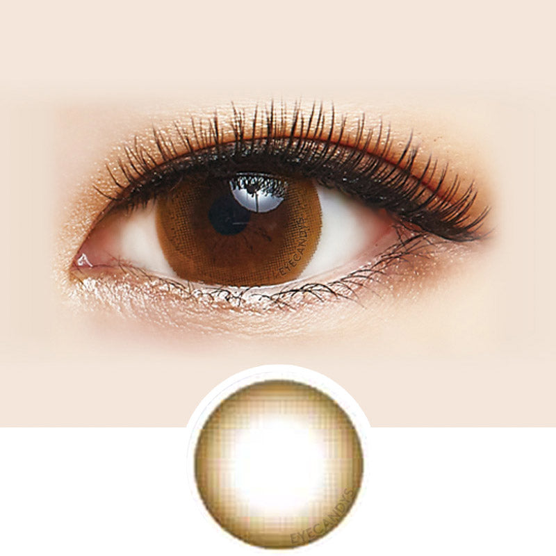 Lens Nine Girl Friend Lovely Girl Brown colored contacts circle lenses - EyeCandy's