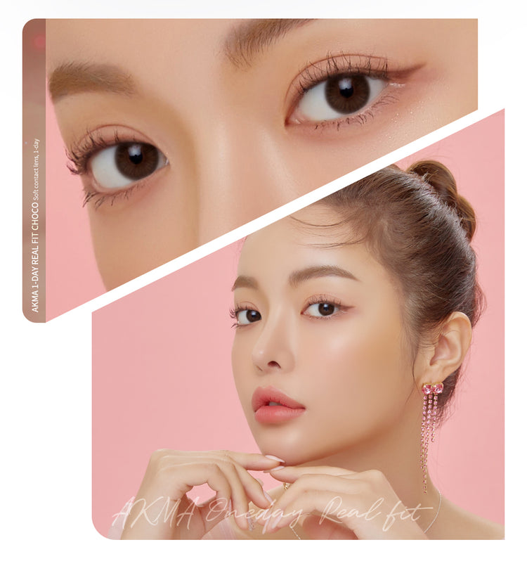 Buy LensMe Akma RealFit Choco (30pk) Colored Contacts | EyeCandys