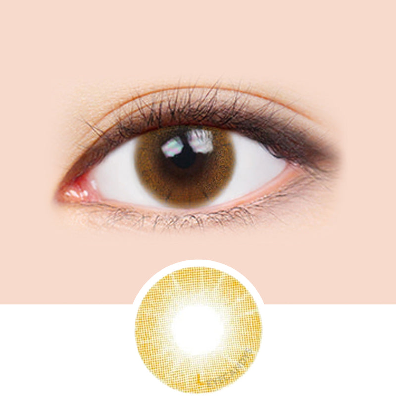 LensMe Cocktail Peach Crush colored contacts circle lenses - EyeCandy's