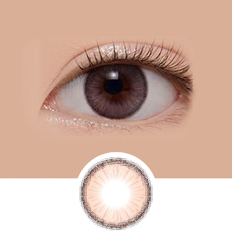 LensMe Holoris Blossom Pink colored contacts circle lenses - EyeCandy's