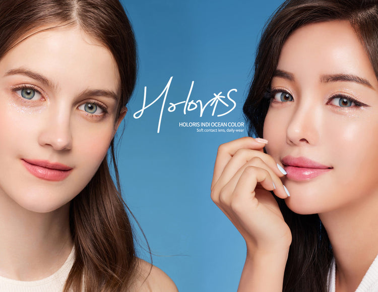 Buy LensMe Holoris Indi Ocean Colored Contacts | EyeCandys