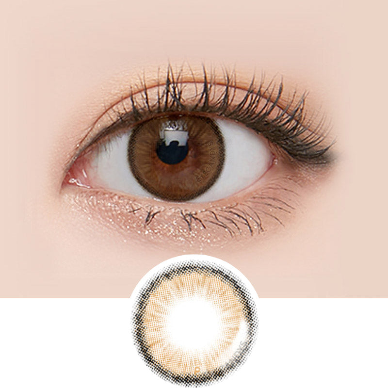 LensMe Makeover Holive Brown colored contacts circle lenses - EyeCandy's