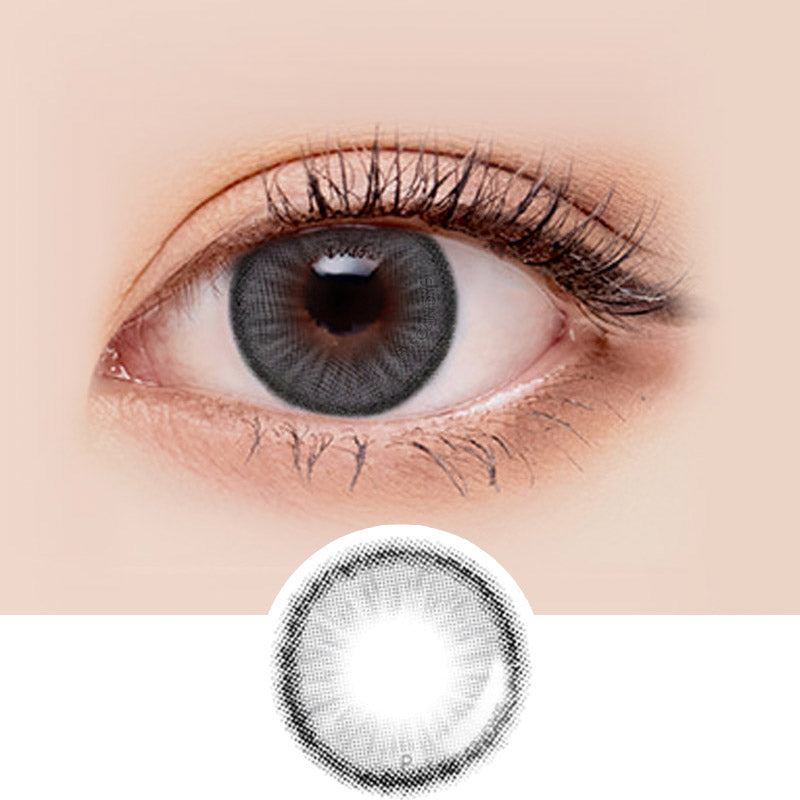 LensMe Makeover Holive Grey colored contacts circle lenses - EyeCandy's