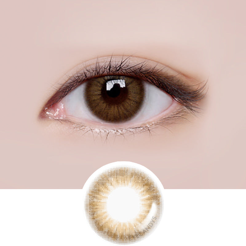 LensMe Style Homme Brown colored contacts circle lenses - EyeCandy's