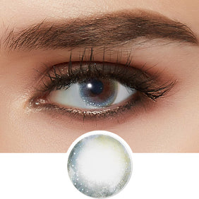 Lenstown Aquabling Blue colored contacts circle lenses - EyeCandy's