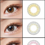 Load image into Gallery viewer, Lenstown Lighly Pastel Pink colored contacts circle lenses - EyeCandy's