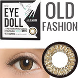 Lilmoon Monthly Old Fashion Brown 1 pair (2 lenses) - EyeCandy's