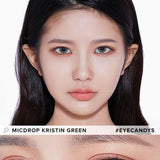 Hapa Kristin Micdrop Kristin Green colored contacts circle lenses - EyeCandy's