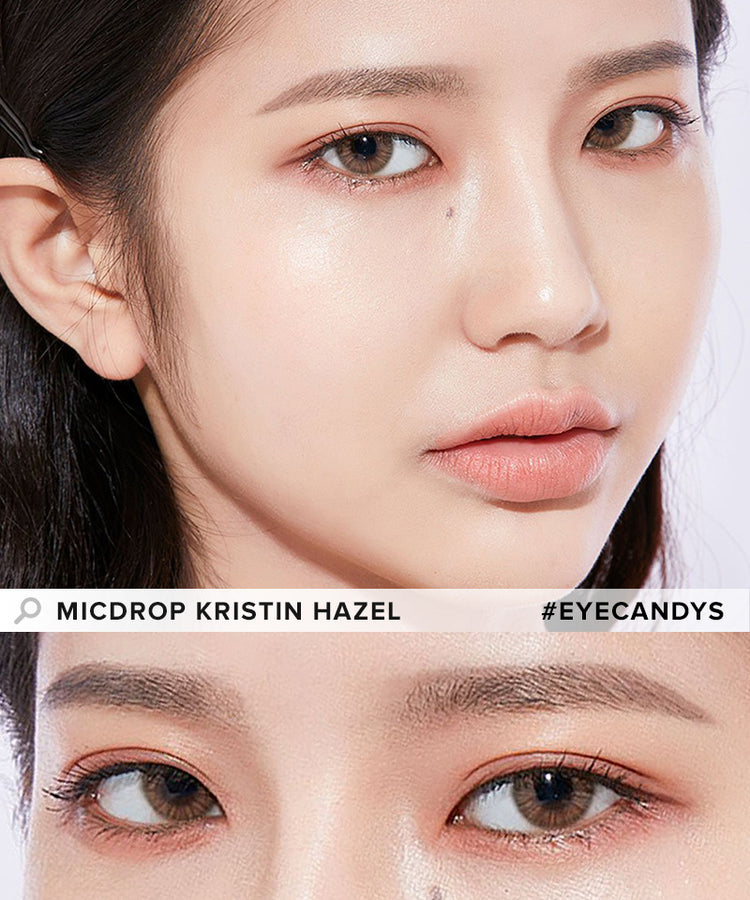 Buy Hapa Kristin Micdrop Kristin Hazel Coloured Contact Lens | EyeCandys