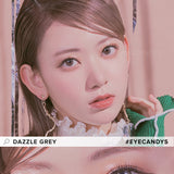 Load image into Gallery viewer, Molak Dazzle Grey colored contacts circle lenses - EyeCandy's