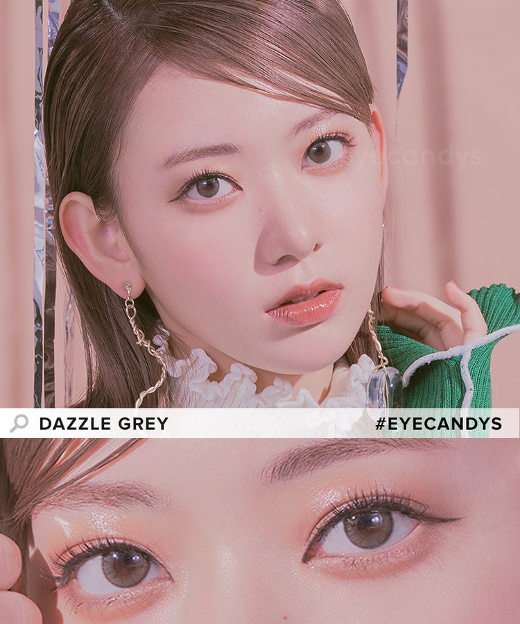 Buy Molak Dazzle Grey Color Contacts | EyeCandys