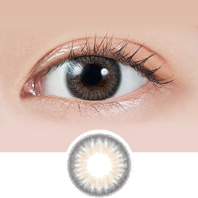 Molak Mirror Grey colored contacts circle lenses - EyeCandy's