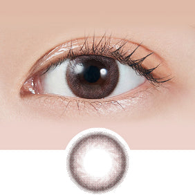 Molak Sakura Petal Brown colored contacts circle lenses - EyeCandy's