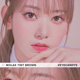 Molak Tint Brown colored contacts circle lenses - EyeCandy's