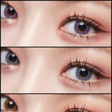 Lenstown Mystarry Violet colored contacts circle lenses - EyeCandy's