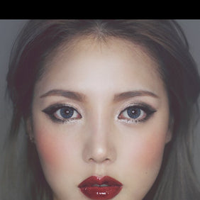 NEO Glamour Grey colored contacts circle lenses - EyeCandy's