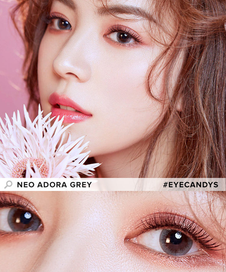Buy NEO Adora Grey Colour Contact Lenses | EyeCandys