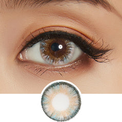 NEO Clover 4 Tone Grey colored contacts circle lenses - EyeCandy's