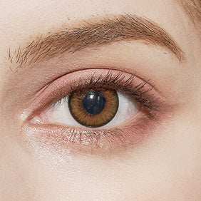 NEO Cosmo Brown colored contacts circle lenses - EyeCandy's