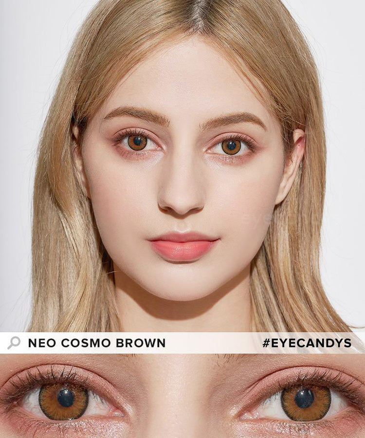 Buy NEO Toric Cosmo Brown Colour Contact Lenses | EyeCandys