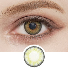 NEO Cosmo Green (KR) colored contacts circle lenses - EyeCandy's