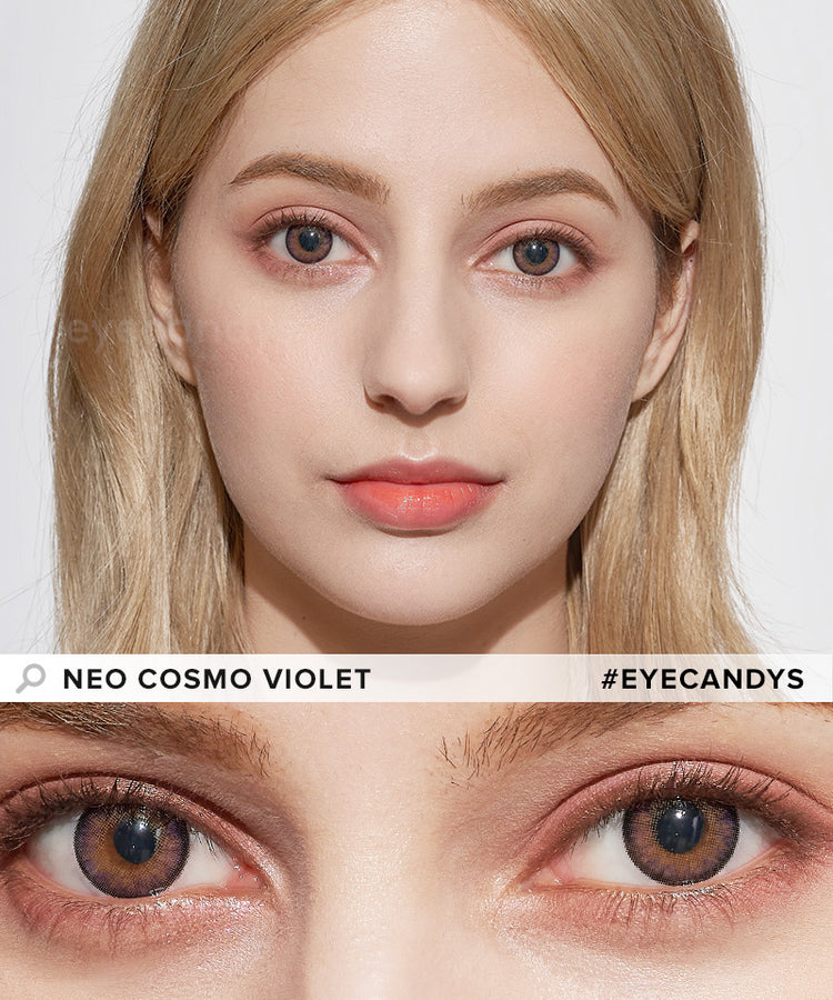 Buy NEO Cosmo Violet (KR) Colour Contact Lenses | EyeCandys