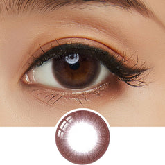NEO Dali Premium Brown colored contacts circle lenses - EyeCandy's