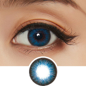 NEO Extra Dali Blue colored contacts circle lenses - EyeCandy's