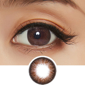 NEO Extra Dali Brown colored contacts circle lenses - EyeCandy's