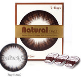 NEO Weekly Natural Dali Black (12 Pcs) 12 lenses/box - EyeCandy's