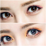 Load image into Gallery viewer, Olens Someday Brown colored contacts circle lenses - EyeCandy's