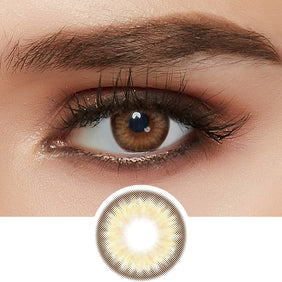 Olens Spanish Circle Brown colored contacts circle lenses - EyeCandy's