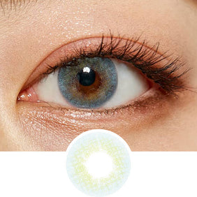 Olens Russian Velvet Blue colored contacts circle lenses - EyeCandy's