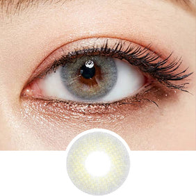 Olens Russian Velvet Grey colored contacts circle lenses - EyeCandy's