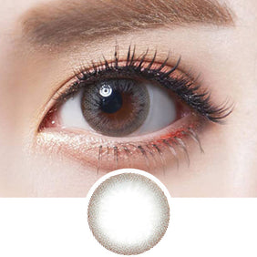 Olens Someday Grey colored contacts circle lenses - EyeCandy's