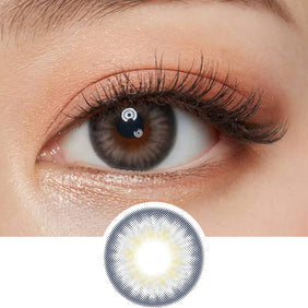 Olens Spanish Circle Grey colored contacts circle lenses - EyeCandy's