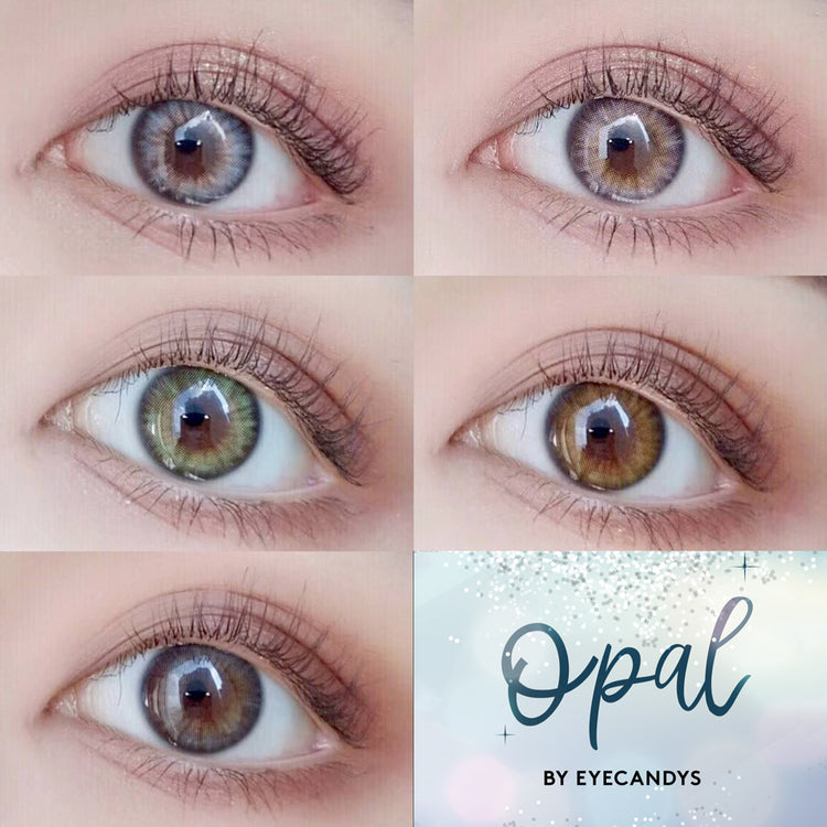 Buy EyeCandys Opal Green Coloured Contacts | EyeCandys